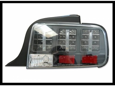 Lexus type Taillights for the Ford Mustang (2005)