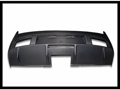 Paragolpes Trasero FIbra de Carbono Lamborghini Gallardo (2010-2013)