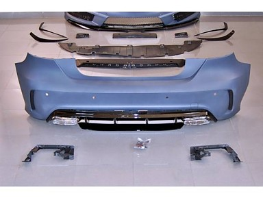 Paragolpes Trasero A45 Restyling para Mercedes Clase A W176