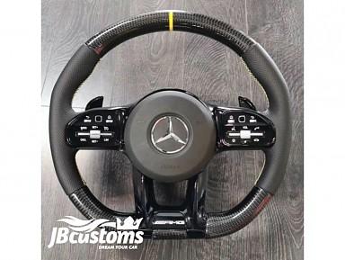Volante Mercedes AMG (2019-2020) Fibra de Carbono