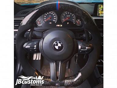 Volante BMW Performance F-Series Fibra de Carbono Forjado