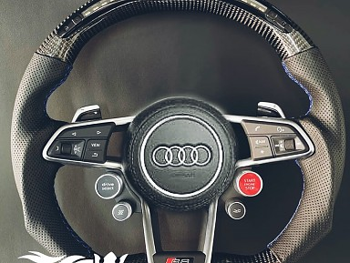 Audi R8 Performance Steering Wheel (Carbon Fiber + Led Screen)