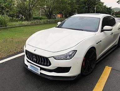 Carbon Fiber Front Lip for Maserati Ghibli (2013+)