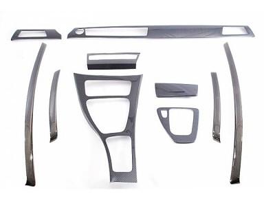 Molduras interiores Fibra de Carbono para BMW Serie 3 E92