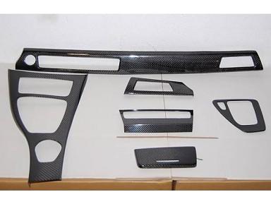 Molduras interiores Fibra de Carbono para BMW Serie 3 E92 Idrive