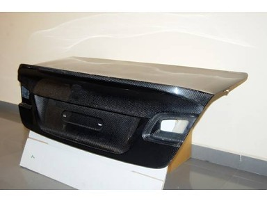 Portón Trasero CSL Fibra de Carbono para BMW Serie 3/M3 E92