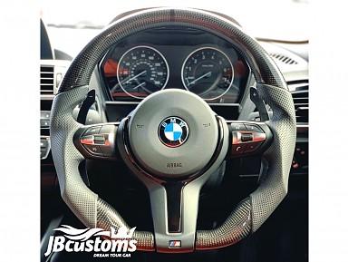 Volante BMW F-Series Fibra de Carbono Brillo (2010-2019)