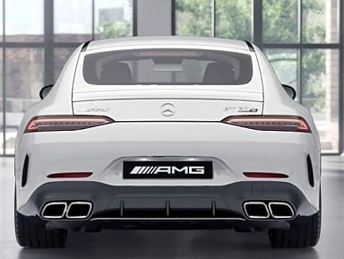 Original Rear Bumper Mercedes AMG GT 63s (2018+) Carbon Fiber
