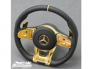 Steering wheel Mercedes-AMG (2019-2020) Gold