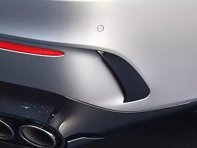 Aero Flaps Traseros Mercedes CLA 45s AMG C118 / X118 (2019+)
