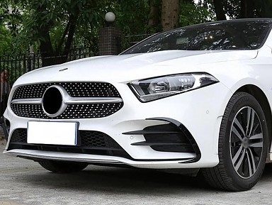 Front Aero Flaps for Mercedes A-Class W177 / V177