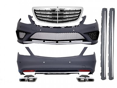 Kit Carroceria S63 AMG para Mercedes Clase S W222 (2014-2017)