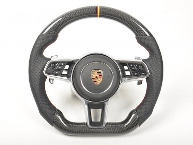 Porsche Carbon Fiber Steering Wheel (2011-2020)