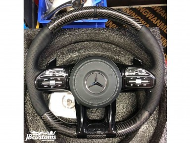 Steering wheel Mercedes-AMG (2019-2020) Carbon Fiber