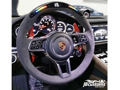 Porsche Alcantara Leather Steering Wheel / LED Screen (2011-2020)