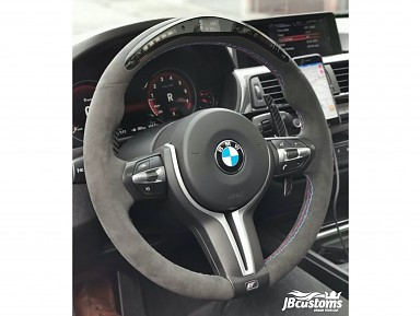 BMW F-Series Alcantara Steering Wheel / LED Screen (2010-2019)