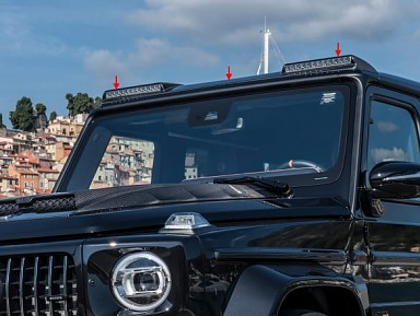 Pieza Adicional Techo Original Brabus para Clase G W463A Facelift (2018+)