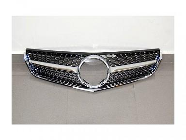 Parrilla Delantera Diamante para Mercedes Clase E W207 (2009-2013)