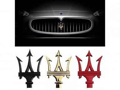 Emblema Tridente Parrilla Delantera Maserati