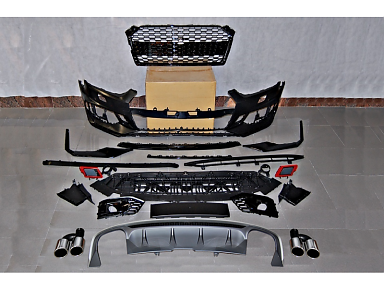 Kit Carroceria Audi RS5 Con Difusor Trasero S5 para Audi A5 F5 (2016+)