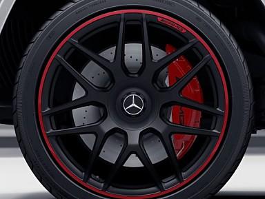 """Llantas Originales Mercedes G63 AMG W463A Edition 1 - 22"""" Pulgadas"""