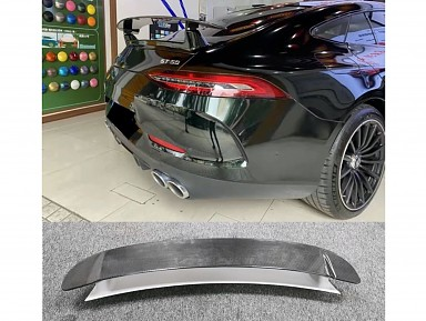 Carbon Fiber Rear Spoiler AMG GT 63s X290 (2018+)