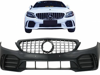 AMG GT Front Bumper for Mercedes C-Class W205 (2015-2020)