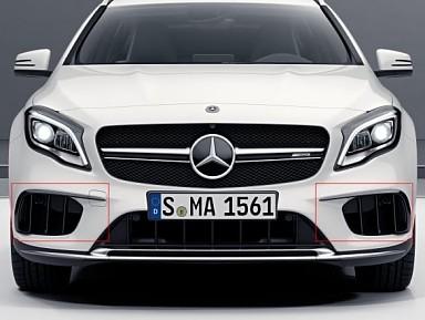 Aero Flaps Delanteros Originales Mercedes GLA45 AMG X156 (2013-2019)