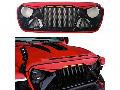 Parrilla Frontal Jeep Wrangler JL Angry Bird (2018+)