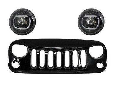 Angry Bird Front Grill Jeep Wrangler JK (2007-2017)