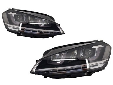 LED Headlights Volkswagen Golf 7 R-Line (2012-2017)