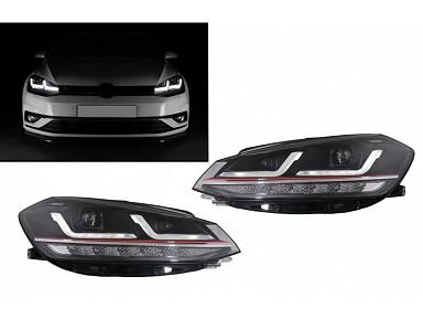 Headlights OSRAM Full LED Volkswagen Golf GTI Hatchback 7.5 Facelift (2017-2019)