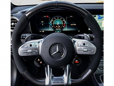 Mercedes-AMG steering wheel with selector knobs (2019-2020)
