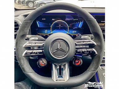 Mercedes-AMG steering wheel with selector knobs (2021+)