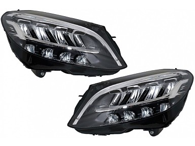 Faros Delanteros Full LED Mercedes Clase C W205 Facelift (2019-2020)