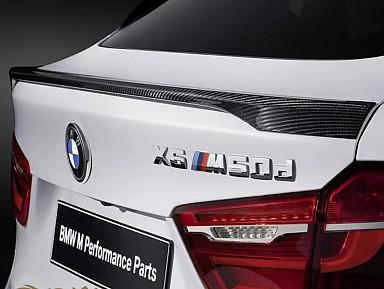 Aleron Fibra de Cabrono X6 M50D para BMW X6 (F16)