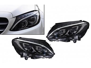 Faros Delanteros Full LED Mercedes Clase C W205 (2015-2018)