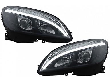 LED Headlights Mercedes C-Class W204 (2007-2010)