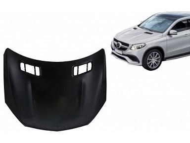 Bonnet Mercedes-Benz GLE 63 AMG Coupe W292 (2015-2019)