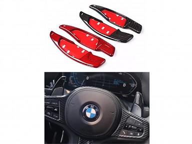Extensiones Levas de Cambio de Fibra de Carbono BMW G-Series (2017+)