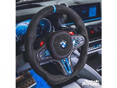 BMW G-Series Alcantara Leather Steering Wheel (2017-2021)