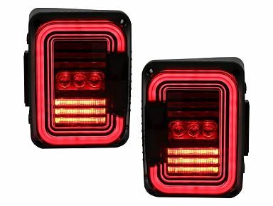 Pilotos Traseros Full LED Jeep Wrangler JK (2007-2017)