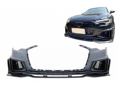 Front Bumper Audi RS6 C8 4K (2020+) Carbon Fiber
