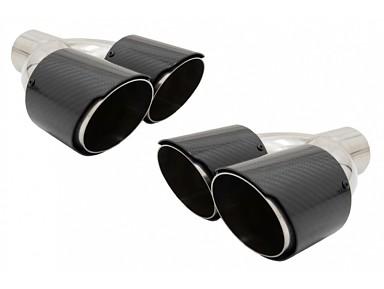 Carbon Fiber Exhaust Tails BMW M Performance