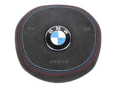 Airbag Upholstered in Alcantara for Steering Wheel BMW G-Series (2017+)