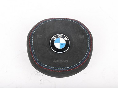 Airbag Tapizado en Alcanatara para Volante BMW G-Series (2017+)