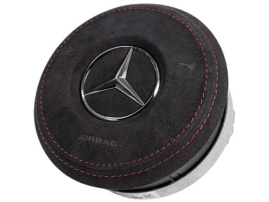 Alcantara Leather Airbag Steering Wheel Mercedes-Benz AMG (2019-2020)