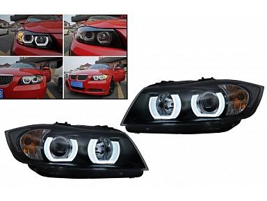 U-LED Headlights BMW 3 Series Sedan E90 / Touring E91 (2005-2008)