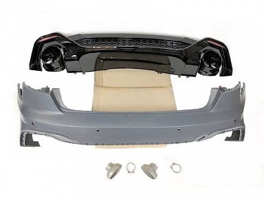 Paragolpes Trasero Audi RS4 Sedán B9 Facelift (2020+)