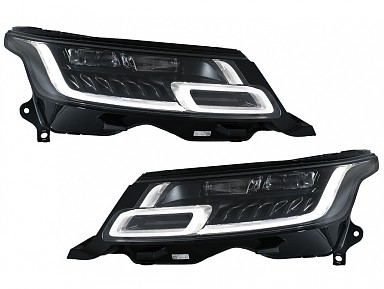 2018+ Matrix LED Headlights for Range Rover Sport L494 (2013-2017)